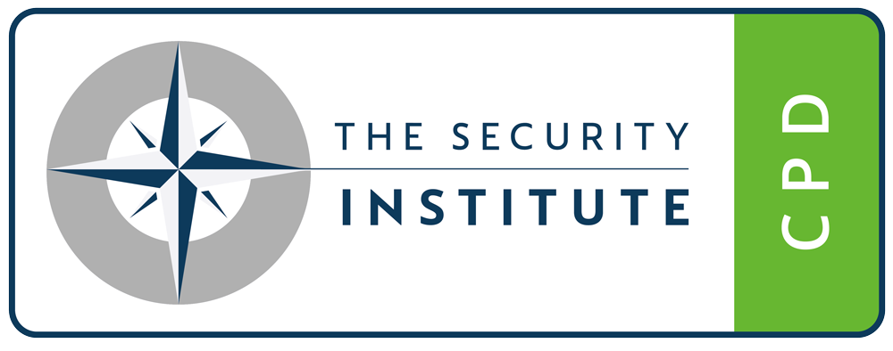 The Security Institute - CPD accreditation